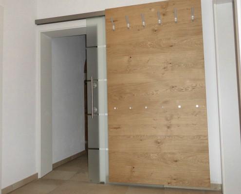 Wandverkleidung/Garderobe - Schreinerei Reuter